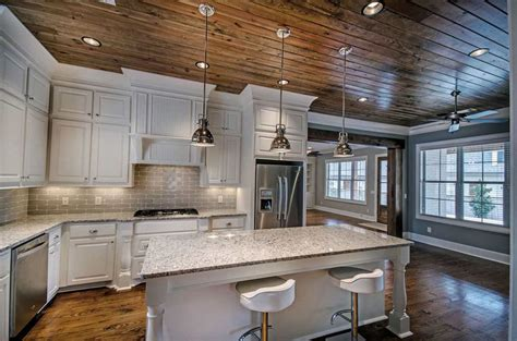 35 Beautiful Rustic Kitchens Design Ideas Designing Idea White Rustic Kitchen Cabinets