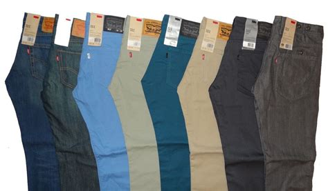 jean colors levi s 511 slim fit s many sizes and