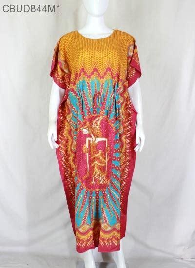 Longdress Batik Jumbo Baju Santai Wanita Jumbo Perumahan Daster Murah daster kelelawar motif wayang hap daster longdress