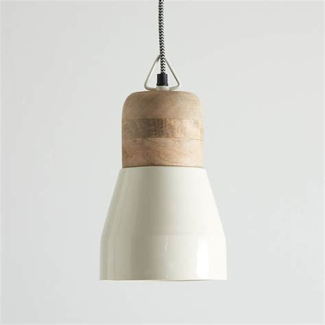 wood lantern pendant light white and natural wood pendant light by horsfall wright