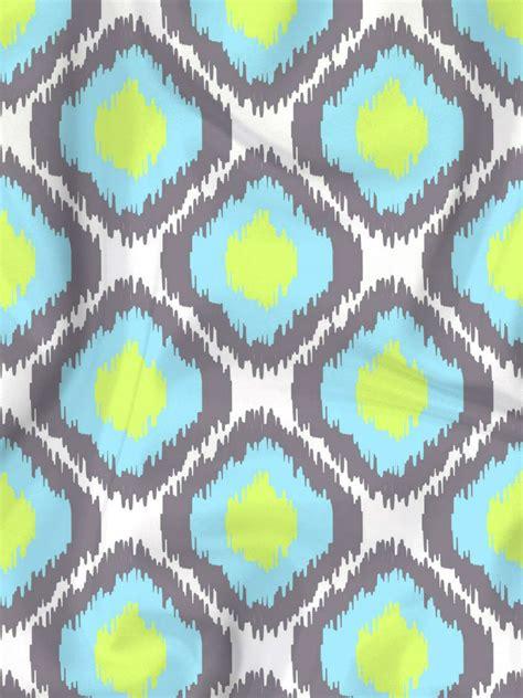 yellow ikat pattern blue yellow ikat fabric designer s hand