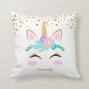 pretty throw pillows unicorn pillows decorative throw pillows zazzle