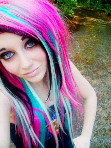 emo haircuts and colors emo hair tumblr colored hair pinterest