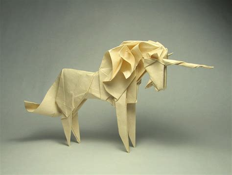 Origami Artwork - origami unicorn