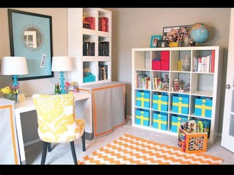 Playroom Ideas For Small Spaces office playroom combo awesome idea for small spaces