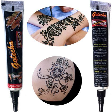 Golecha Henna Black 1 3 stk golecha henna tuben schwarz klinisch getestet