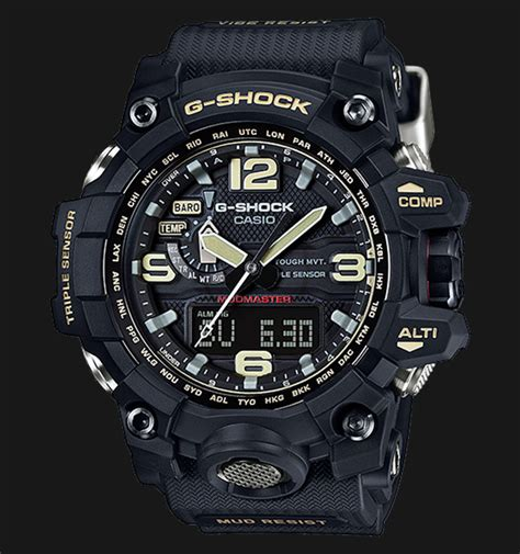 Jam Tangan Casio G Shock Mud Master Glow In The Darkblack List casio g shock mudmaster gwg 1000 1adr sensor