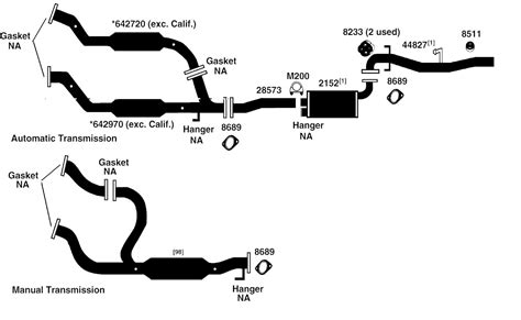 muffler diagram 2000 isuzu trooper exhaust diagram wiring library