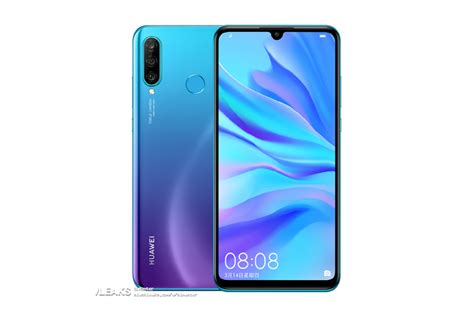 leaked huawei p30 lite press renders showcase rear tiny notch phonearena