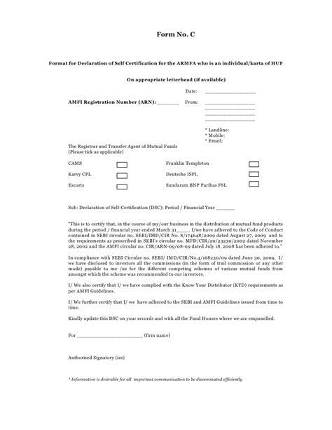 self declaration format for resume letter format guidelines email letter format gse bookbinder co self declaration form 2010 2011