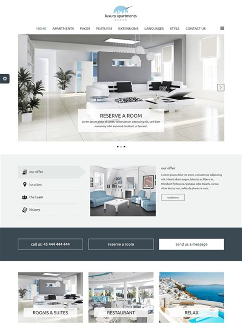 joomla hotel template 8 of the best joomla templates for hotels