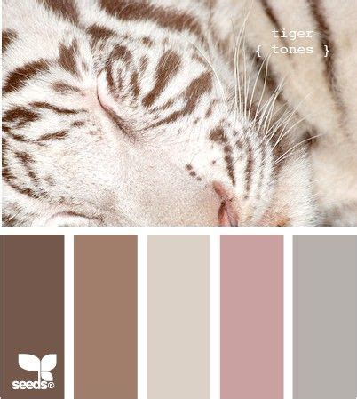 white tiger bedroom decor tiger tones soft color palette color pallets pinterest
