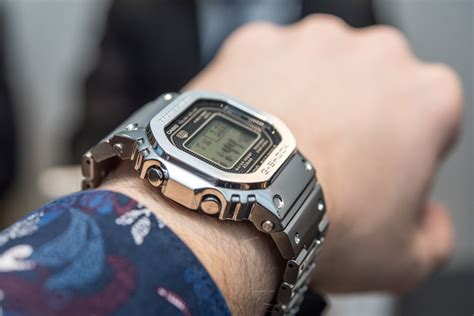 G Shock B on with the casio g shock gmw b 5000 d 1 metal