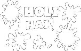 Holi Latest Coloring Drawing Painting Pages Pictures Gif Holi Colouring Pages