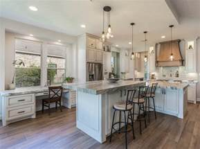Delta Cassidy Kitchen Faucet transitional modern farmhouse kitchen design home bunch