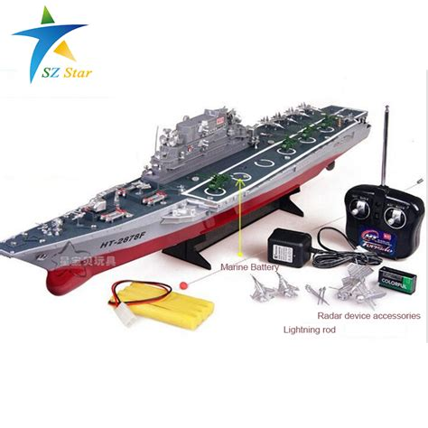 rc carrier boat 4ch large aircraft carrier rc boat electric toys remote