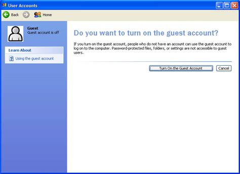 Windows Vista Password Reset From Guest Account | hack administrator password windows xp guest account