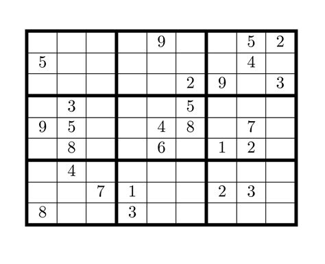 printable sudoku crossword puzzles 6 x 6 sudoku printable pictures to pin on pinterest