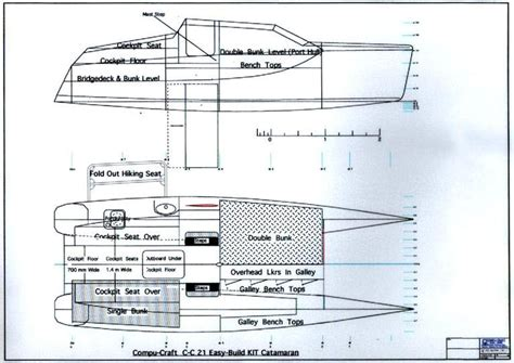 trimaran plans and kits small catamaran kit plans virtual sailor boats