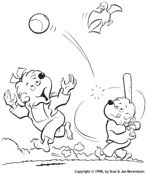 sister bear coloring page baseball coloring pages free printable pictures coloring