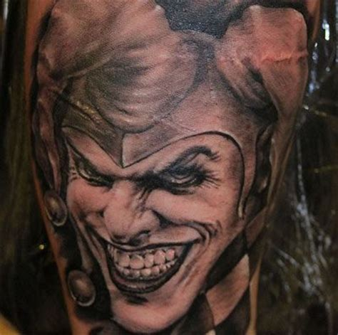 jesters court tattoo top 10 joker designs