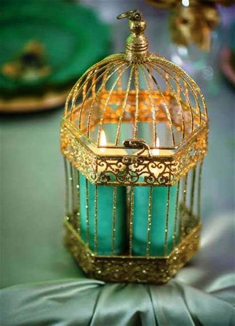 cheap bird cages for centerpieces glam ideas for your wedding centerpieces my