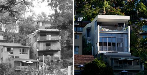 1980s contemporary house remodel before after a 1980s duplex transformed into