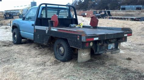bale bed for sale 1990 gmc 2500 w 275 deweze bale bed nex tech classifieds