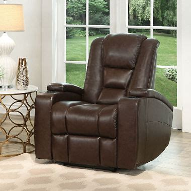 recliner chairs theater mastro leather power reclining home theater chair sam s club
