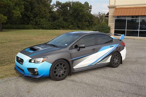 subaru wrapped subaru sti rally car wrap car wrap city
