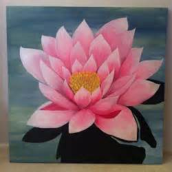 Lotus Flower Canvas 17 Best Images About Ideas On Original