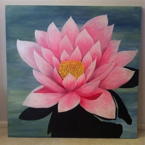 acrylic painting lotus flower images of lotus paintings search murral