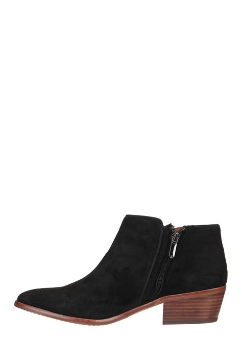 sam edelman shoes sam edelman boots in black lyst