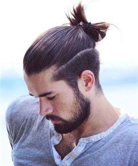 stages of slick to man bun 29 man bun undercut ideas to get more inspiration
