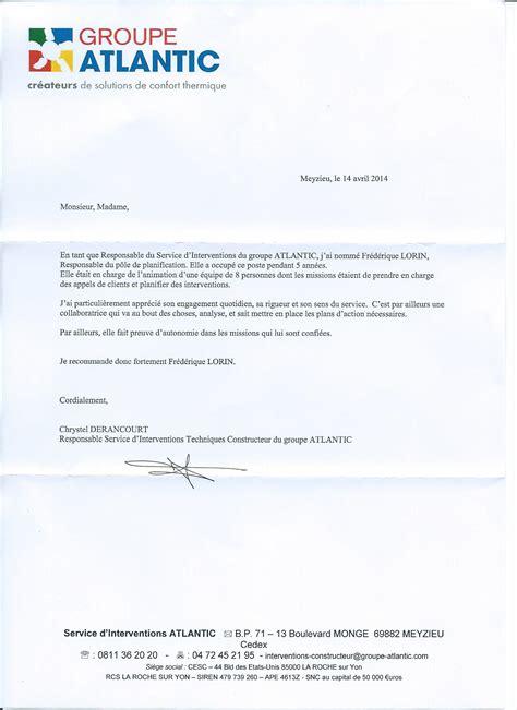 Modèle De Lettre De Recommandation Pour Un Comptable Modele Lettre De Recommandation Fournisseur