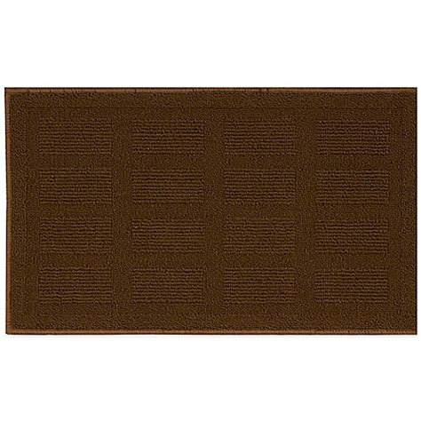2 X 4 Kitchen Rug Buy Nourison Grid 2 Foot 6 Inch X 4 Foot Kitchen Rug In Brown From Bed Bath Beyond