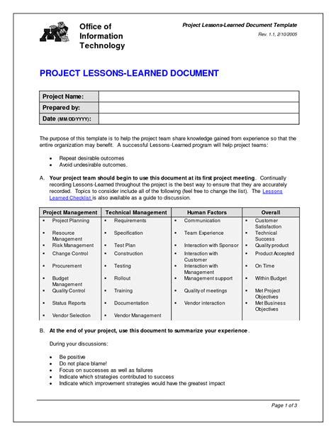 lessons learned report sle project lessons learned quotes quotesgram