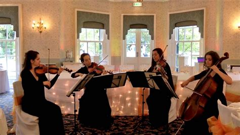 Wedding Quartet by Wedding String Quartet Canon In D Major Johann