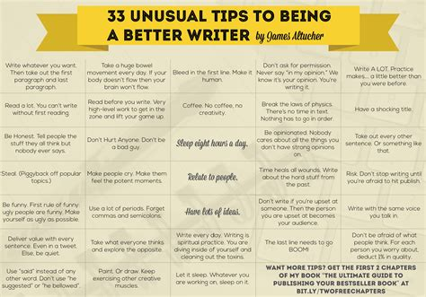 12 Tips On How To A Date 20 by 33 Tips To Being A Better Writer Plus One Key To
