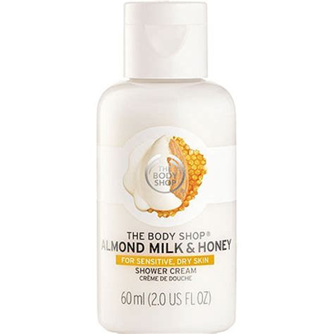 The Shop Milk Plus Calming Moisture Shower only almond milk honey soothing caring shower