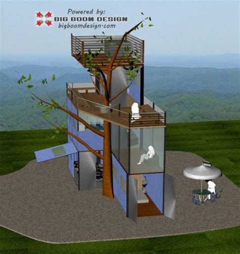 shipping container home design nc mountains big boom