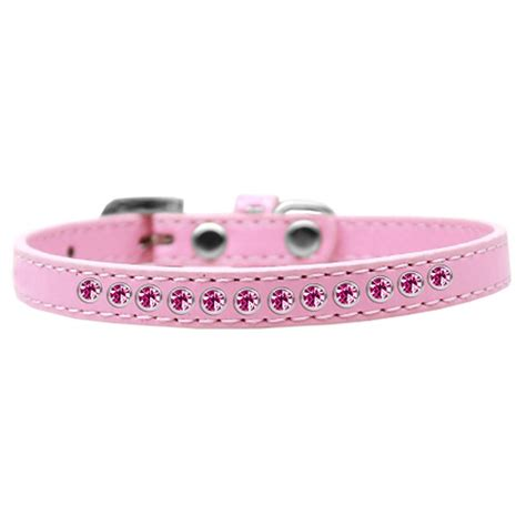 pink collars bright pink puppy light pink collar baxterboo