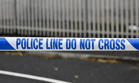 Police Tape | edward gibson dies in hospital after shooting in west