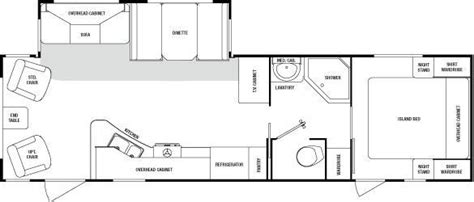 sunnybrook rv floor plans 2008 sunnybrook sunset creek 307 rl travel trailer