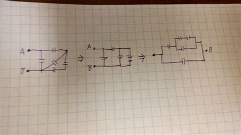 capacitors exercises homework and exercises how to reduce complex combination of capacitors into simpler circuits