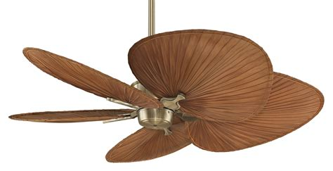 leaf ceiling fan with light top 10 palm leaf ceiling fans warisan lighting