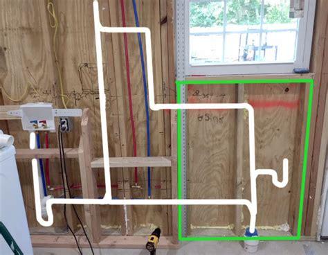Laundry Sink Plumbing Diagram - laundry room utility sink plumbing diagram questions
