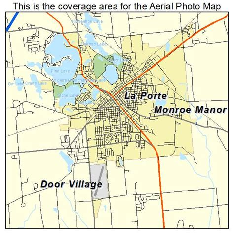 la porte texas map aerial photography map of la porte in indiana