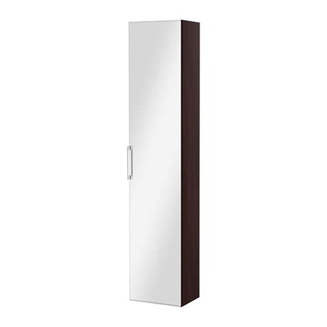 ikea mirror cabinet godmorgon high cabinet with mirror door black brown ikea