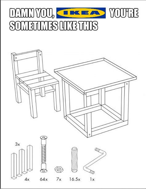 Ikea Instructions Meme - 30 best ikea funny pictures images on pinterest